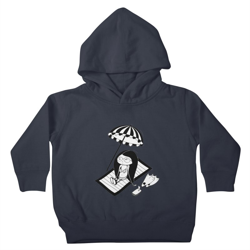 Zegi to the sea Kids Toddler Pullover Hoody by coclodesign's Artist Shop