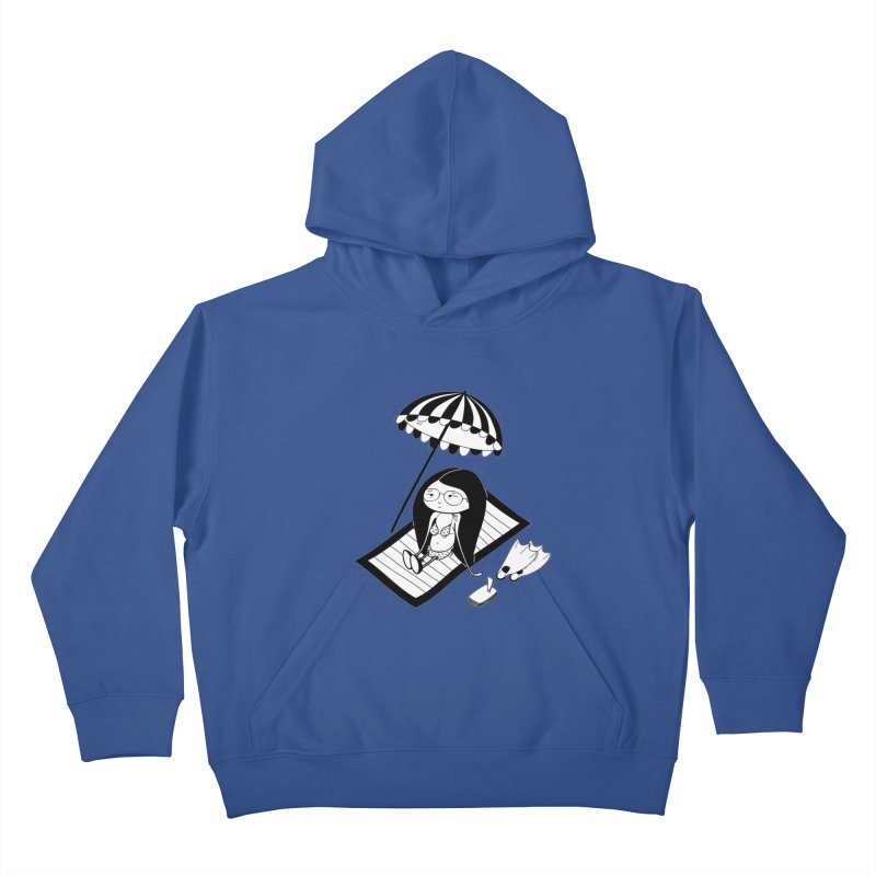 Zegi to the sea Kids Pullover Hoody by coclodesign's Artist Shop