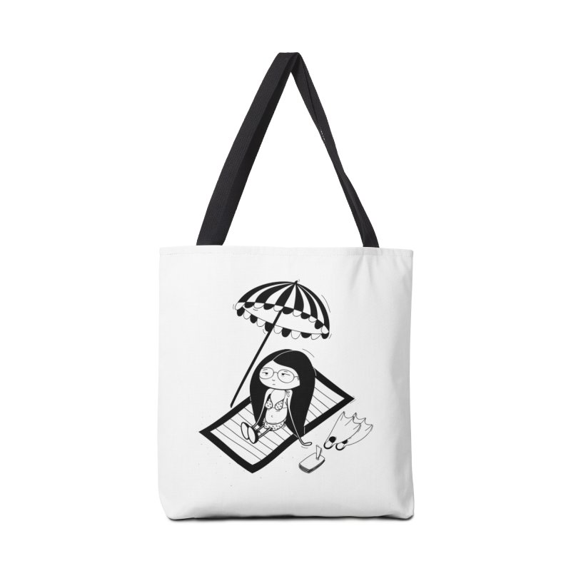 Zegi to the sea Accessories Tote Bag Bag by coclodesign's Artist Shop