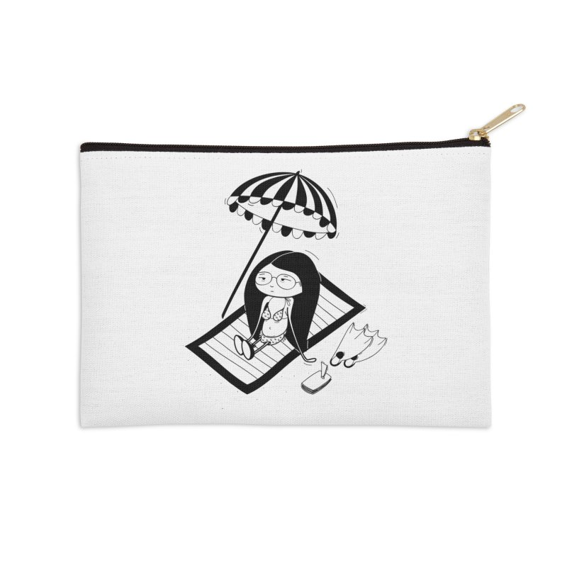 Zegi to the sea Accessories Zip Pouch by coclodesign's Artist Shop