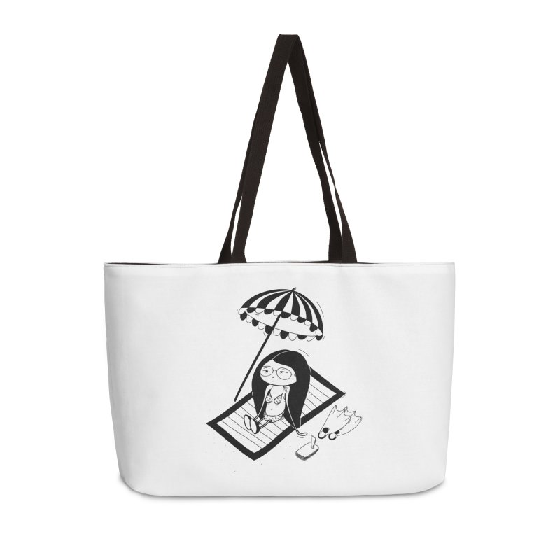 Zegi to the sea Accessories Weekender Bag Bag by coclodesign's Artist Shop