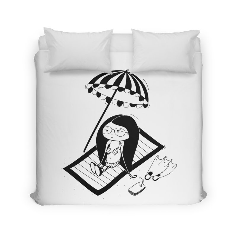 Zegi to the sea Home Duvet by coclodesign's Artist Shop