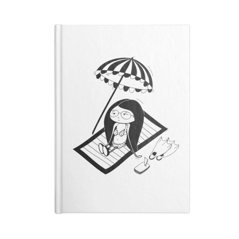 Zegi to the sea Accessories Blank Journal Notebook by coclodesign's Artist Shop