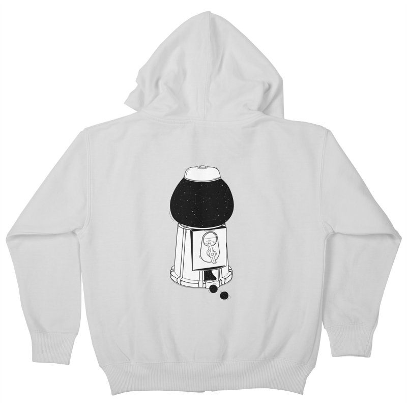 Dreams dispencer  Kids Zip-Up Hoody by coclodesign's Artist Shop