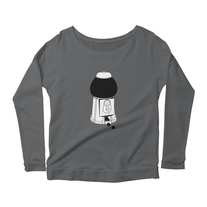 Dreams dispencer  Women's Scoop Neck Longsleeve T-Shirt by coclodesign's Artist Shop