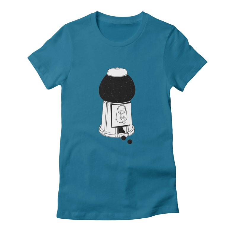 Dreams dispencer  Women's Fitted T-Shirt by coclodesign's Artist Shop
