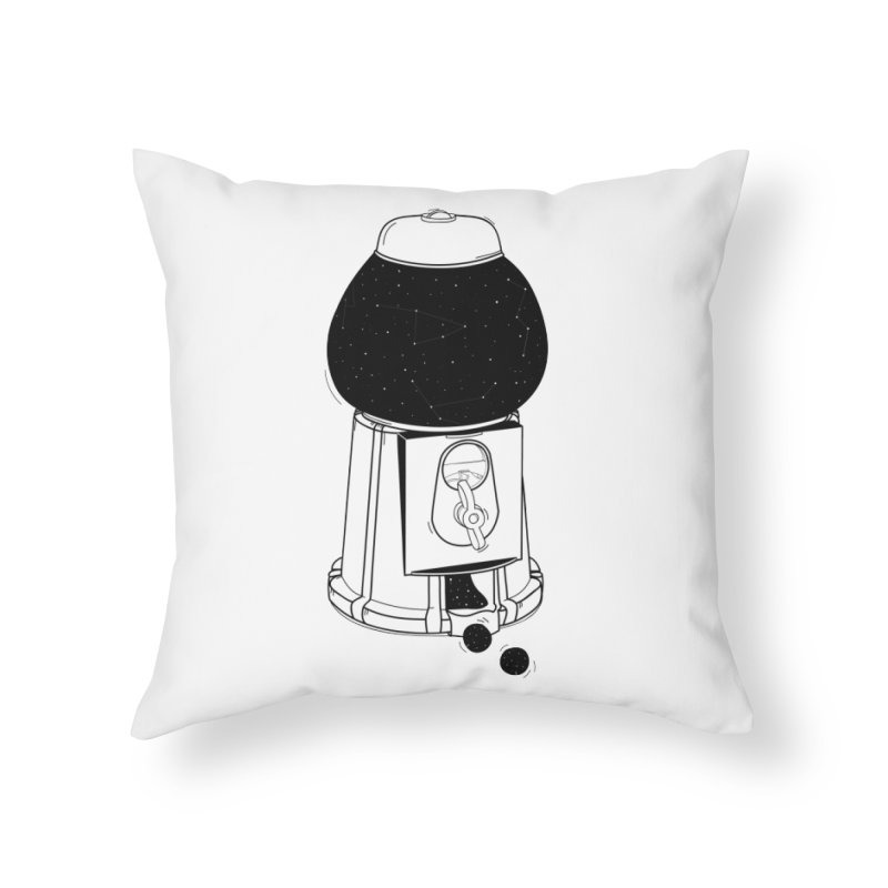 Dreams dispencer  Home Throw Pillow by coclodesign's Artist Shop