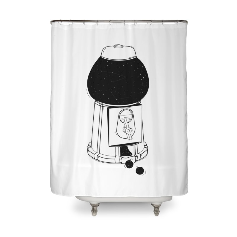 Dreams dispencer  Home Shower Curtain by coclodesign's Artist Shop