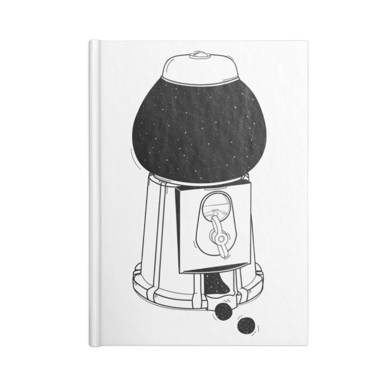 Dreams dispencer  Accessories Lined Journal Notebook by coclodesign's Artist Shop