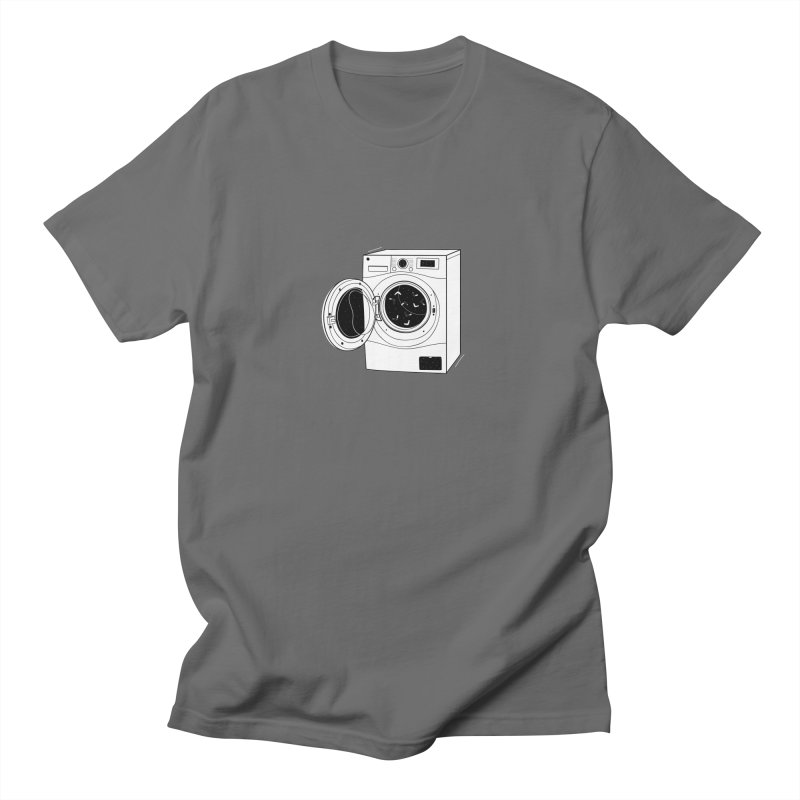 The washing machine and the mystery of the missing socks Women's Regular Unisex T-Shirt by coclodesign's Artist Shop
