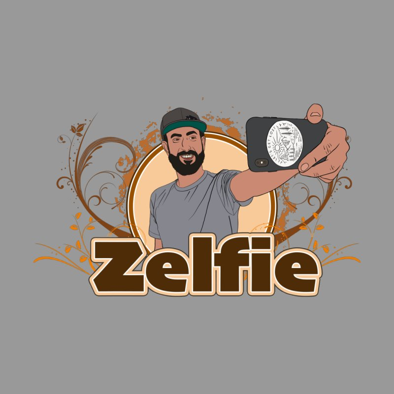 Zelfie Women's V-Neck by Coconut Justice's Artist Shop