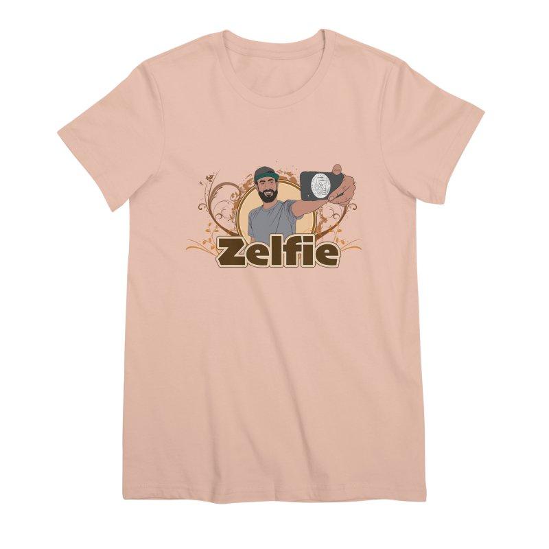 Zelfie Women's Premium T-Shirt by Coconut Justice's Artist Shop
