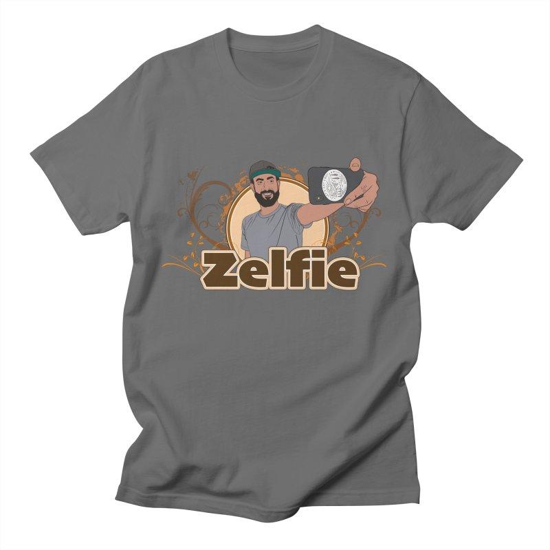 Zelfie Men's T-Shirt by Coconut Justice's Artist Shop
