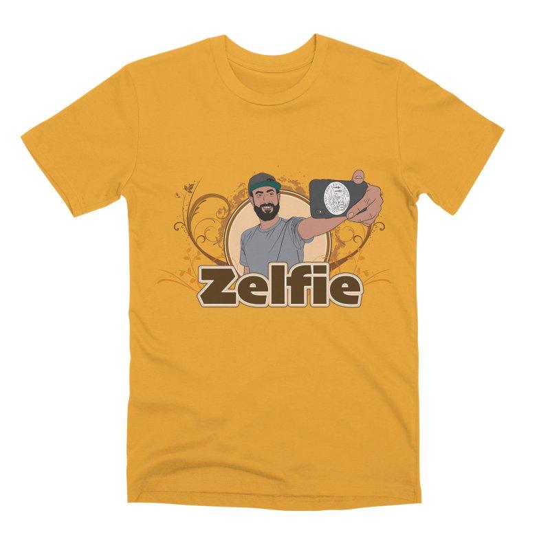 Zelfie Men's Premium T-Shirt by Coconut Justice's Artist Shop