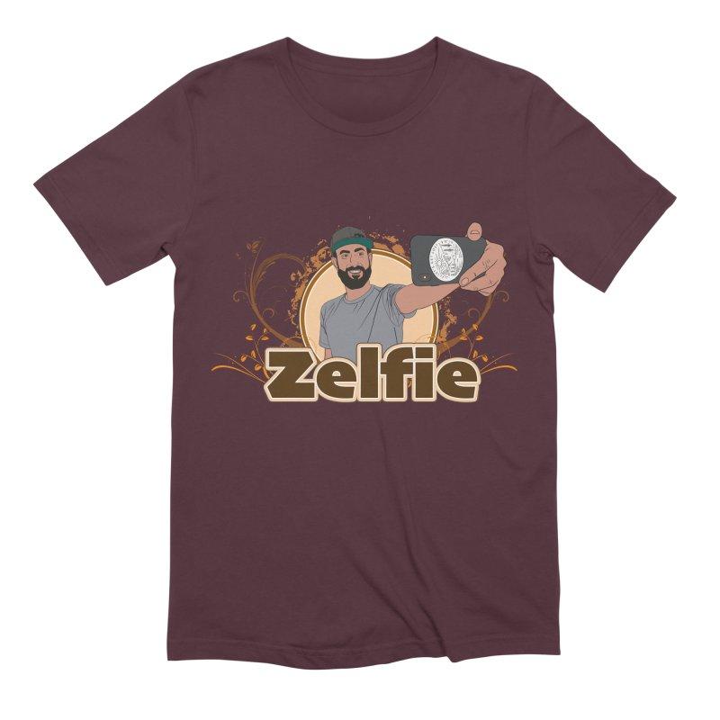 Zelfie Men's Extra Soft T-Shirt by Coconut Justice's Artist Shop