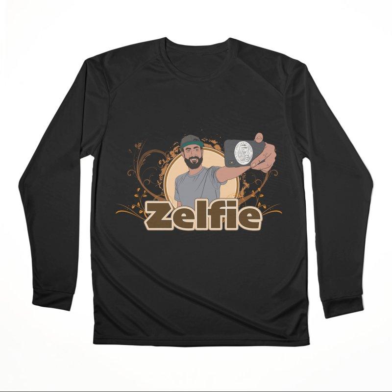 Zelfie Women's Performance Unisex Longsleeve T-Shirt by Coconut Justice's Artist Shop