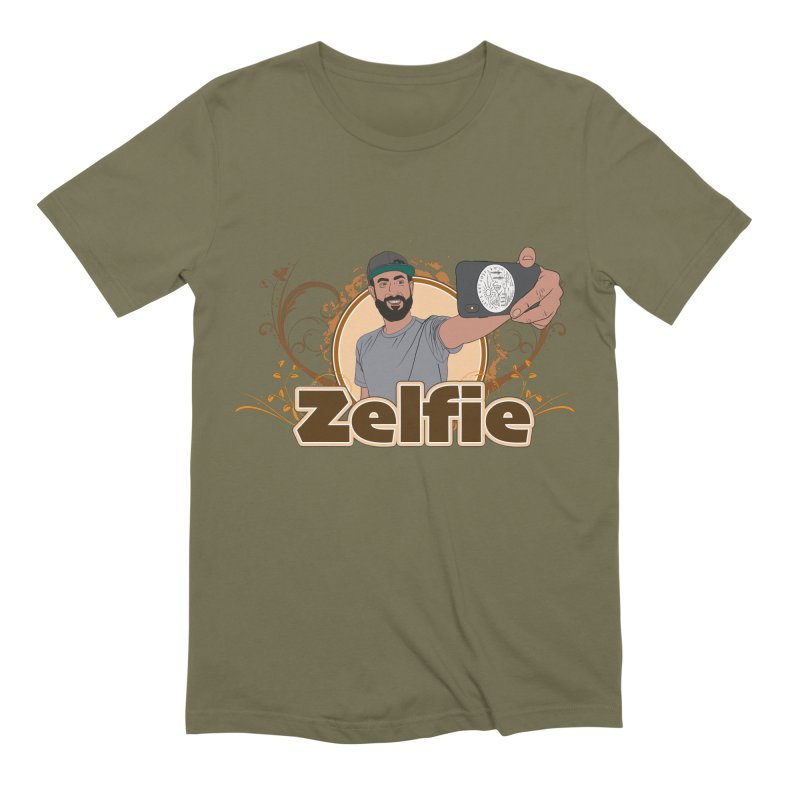 Zelfie Men's Extra Soft T-Shirt by Coconut Justice's Artist Shop
