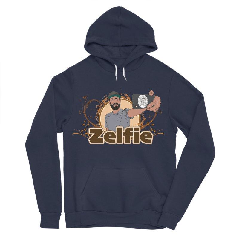 Zelfie Men's Sponge Fleece Pullover Hoody by Coconut Justice's Artist Shop