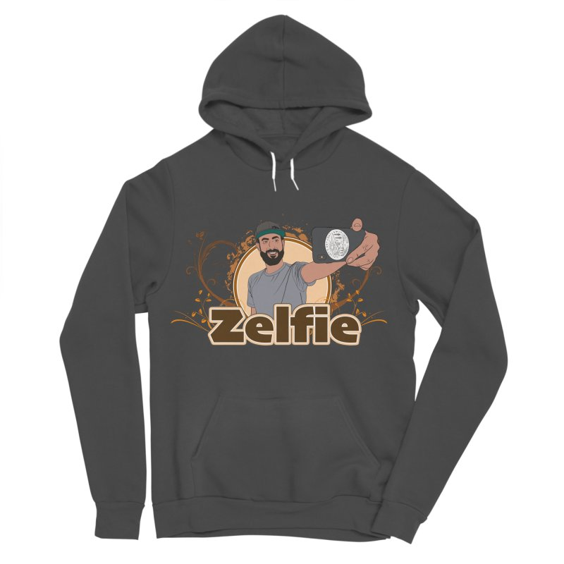 Zelfie Women's Sponge Fleece Pullover Hoody by Coconut Justice's Artist Shop