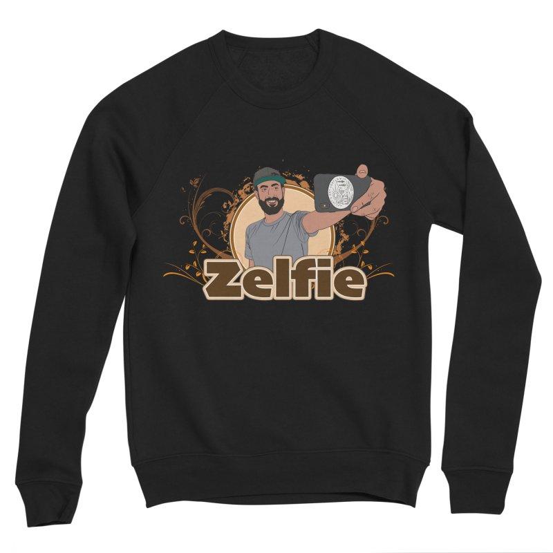 Zelfie Men's Sponge Fleece Sweatshirt by Coconut Justice's Artist Shop