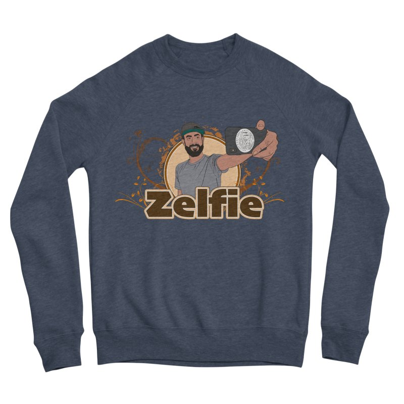 Zelfie Women's Sponge Fleece Sweatshirt by Coconut Justice's Artist Shop
