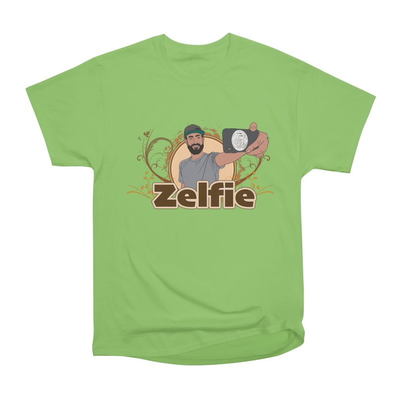 Zelfie Women's Heavyweight Unisex T-Shirt by Coconut Justice's Artist Shop