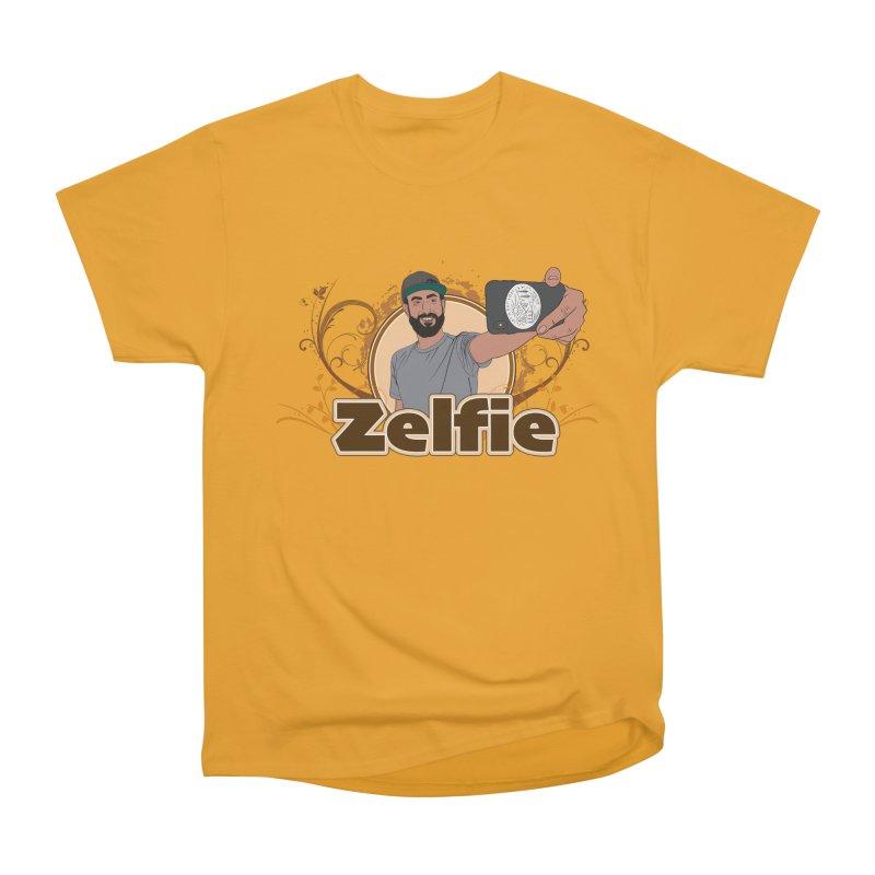 Zelfie Men's Heavyweight T-Shirt by Coconut Justice's Artist Shop