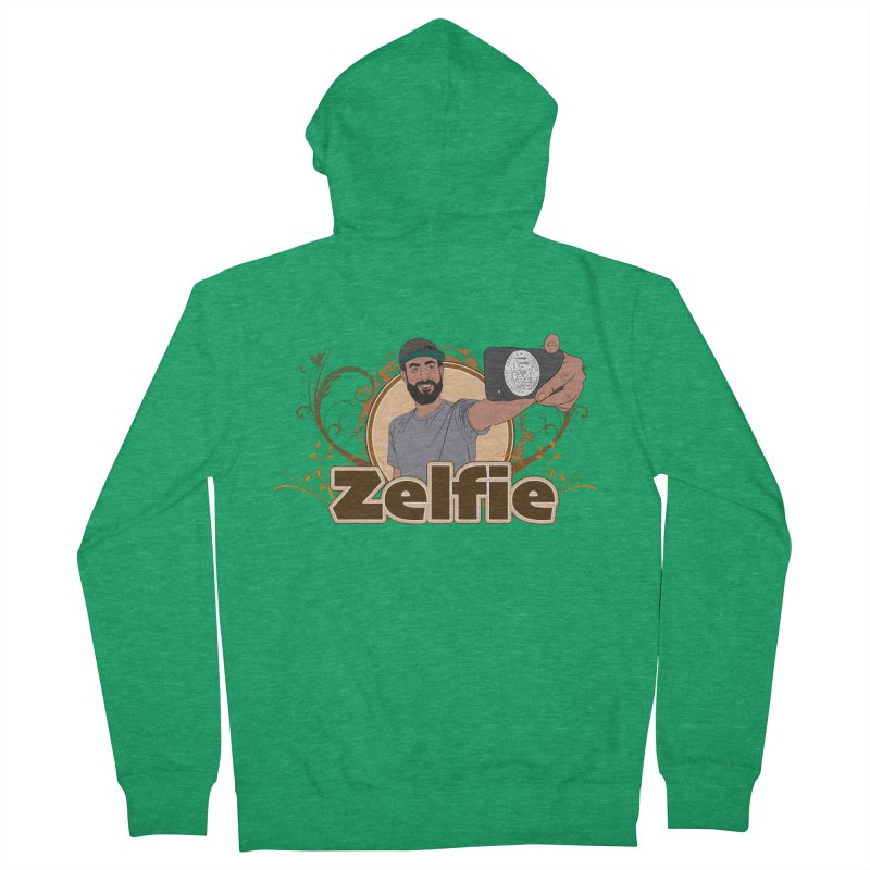 Zelfie Women's Zip-Up Hoody by Coconut Justice's Artist Shop
