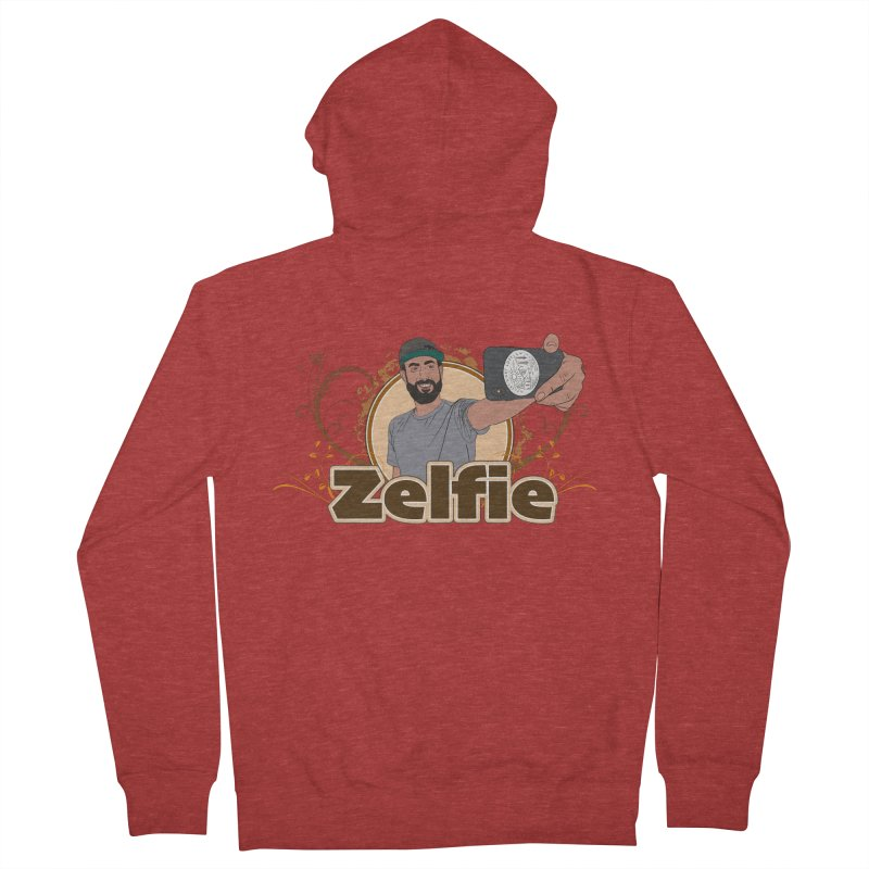 Zelfie Women's French Terry Zip-Up Hoody by Coconut Justice's Artist Shop