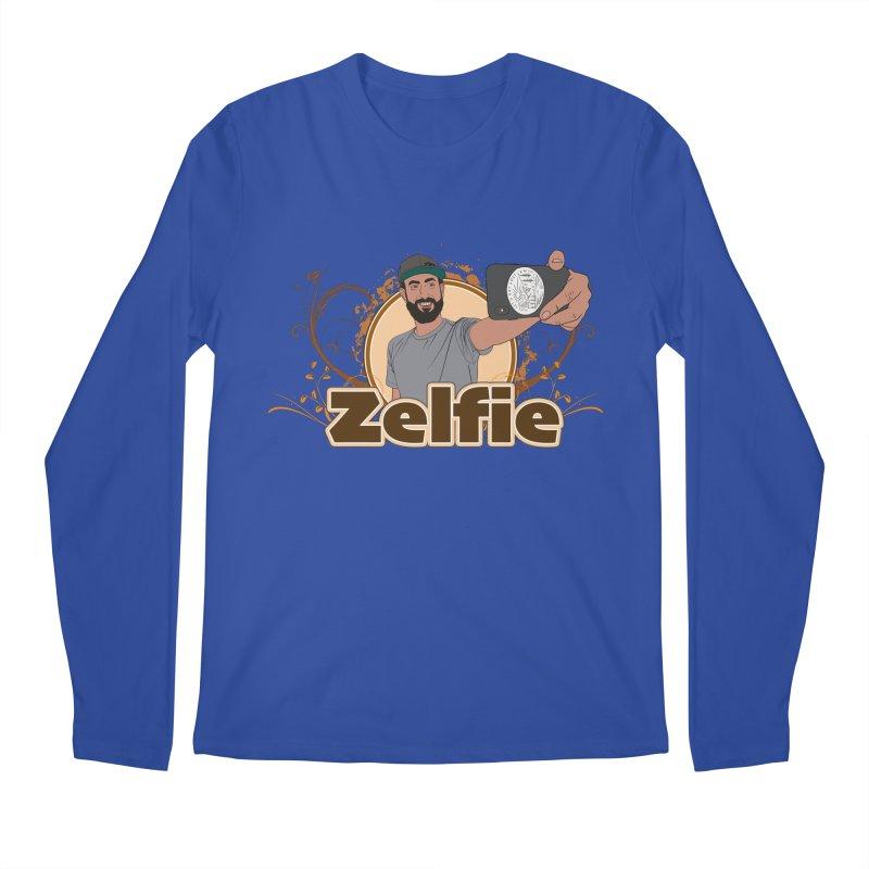 Zelfie Men's Regular Longsleeve T-Shirt by Coconut Justice's Artist Shop