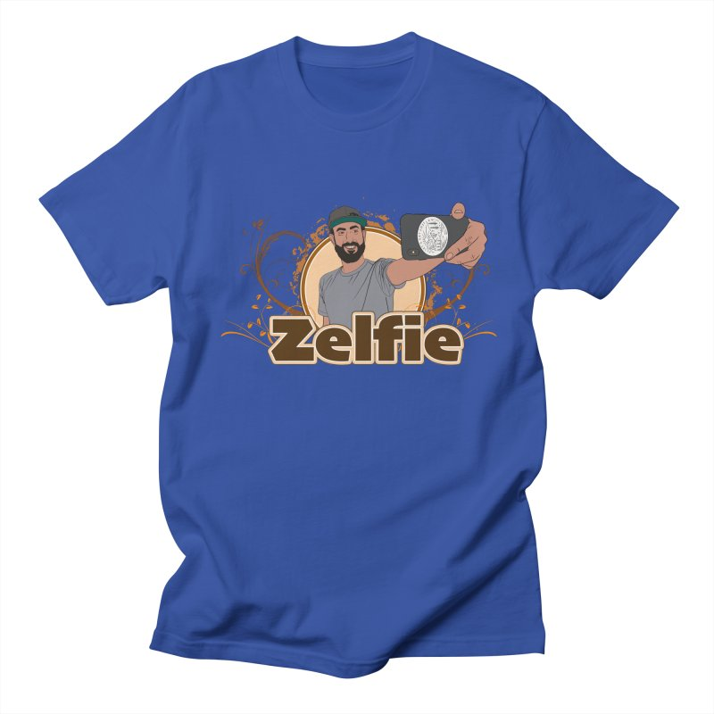 Zelfie Men's Regular T-Shirt by Coconut Justice's Artist Shop