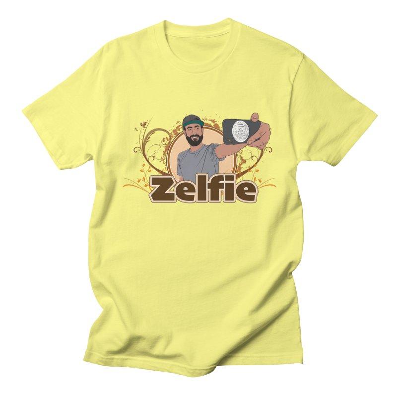 Zelfie Men's Regular T-Shirt by Coconut Justice's Artist Shop