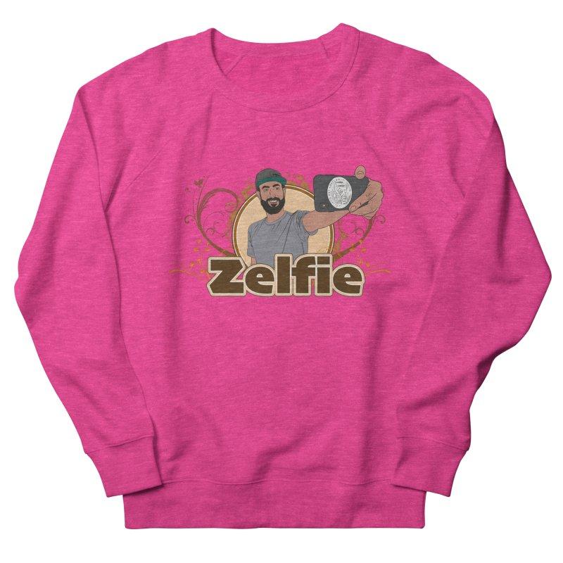 Zelfie Men's French Terry Sweatshirt by Coconut Justice's Artist Shop