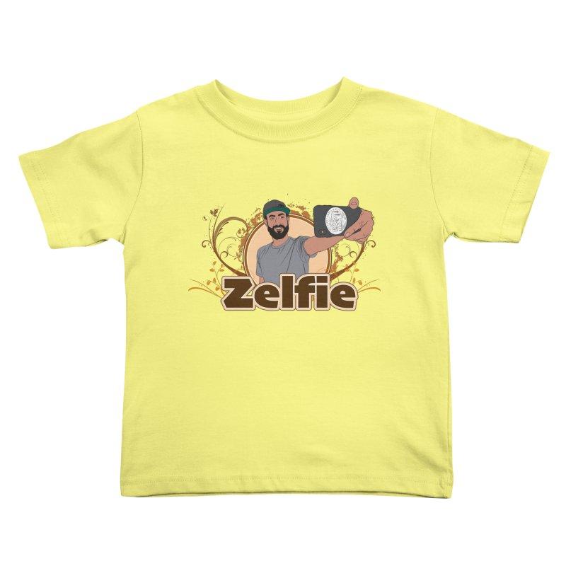 Zelfie Kids Toddler T-Shirt by Coconut Justice's Artist Shop