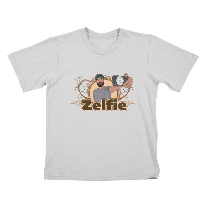 Zelfie Kids T-Shirt by Coconut Justice's Artist Shop