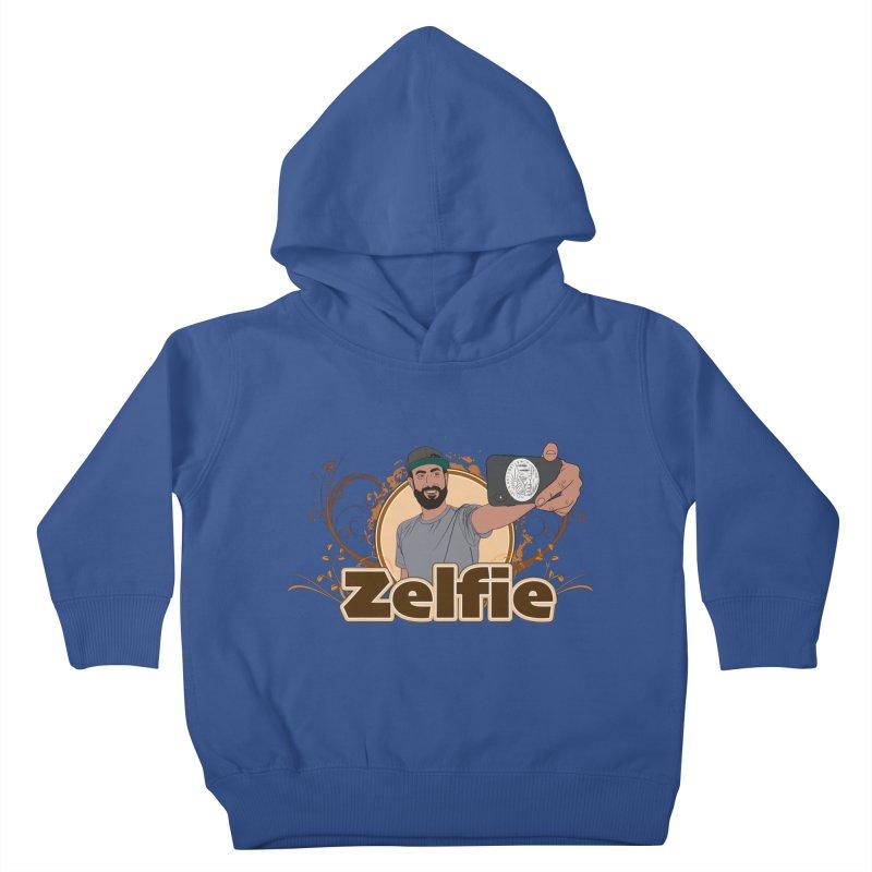 Zelfie Kids Toddler Pullover Hoody by Coconut Justice's Artist Shop
