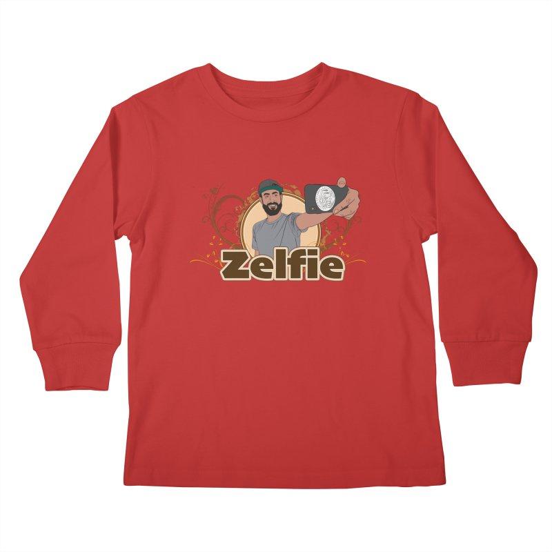 Zelfie Kids Longsleeve T-Shirt by Coconut Justice's Artist Shop