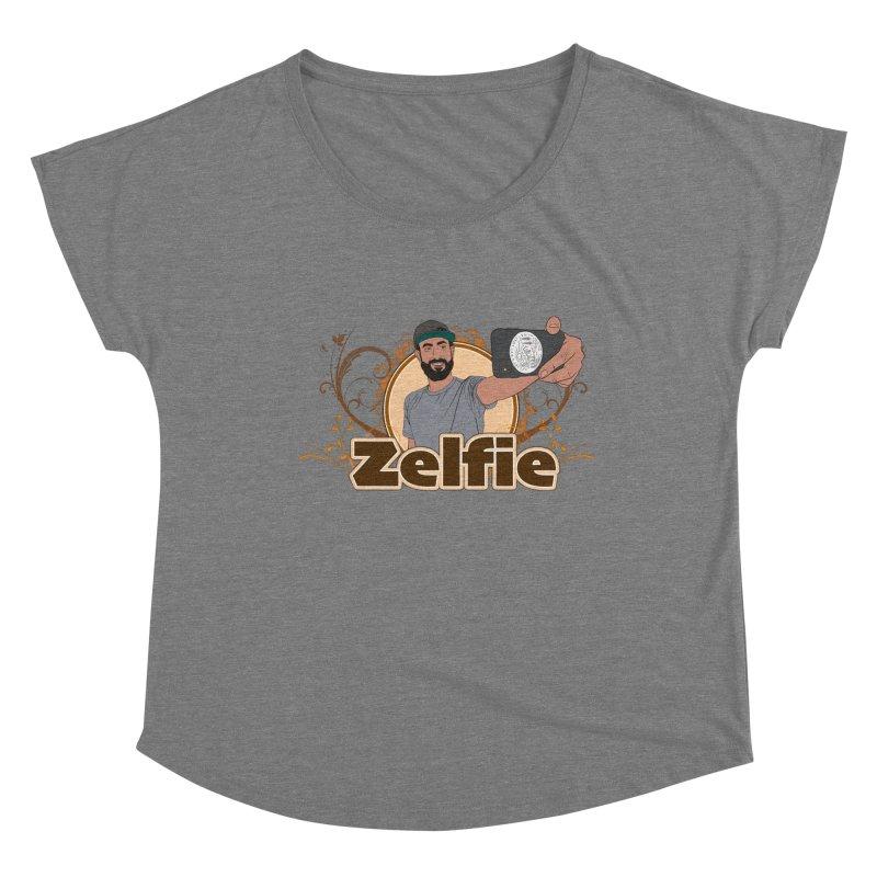 Zelfie Women's Scoop Neck by Coconut Justice's Artist Shop