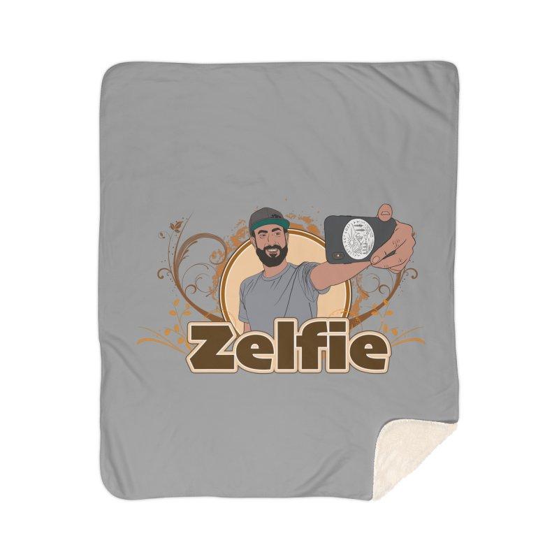 Zelfie Home Sherpa Blanket Blanket by Coconut Justice's Artist Shop