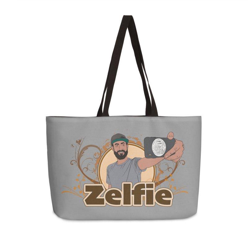 Zelfie Accessories Weekender Bag Bag by Coconut Justice's Artist Shop