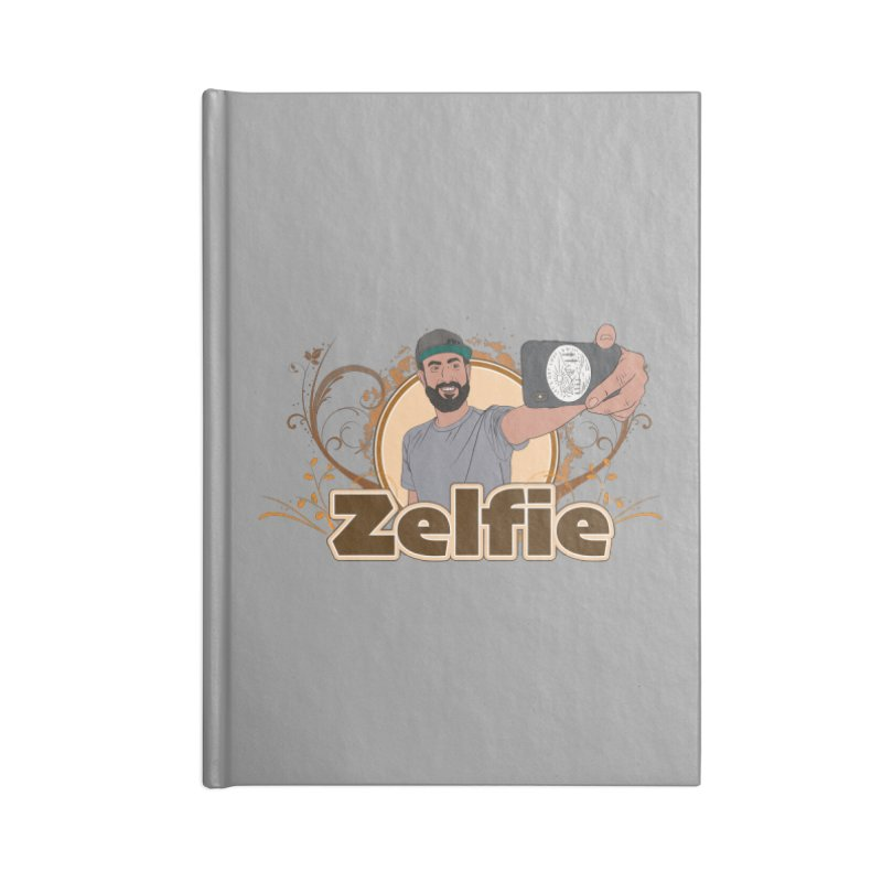 Zelfie Accessories Lined Journal Notebook by Coconut Justice's Artist Shop