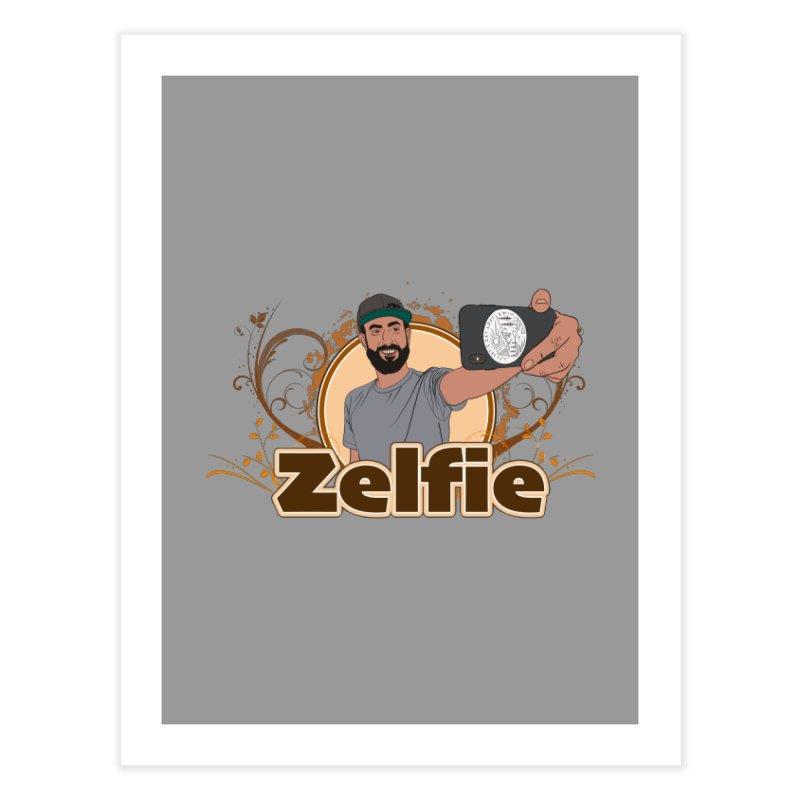 Zelfie Home Fine Art Print by Coconut Justice's Artist Shop