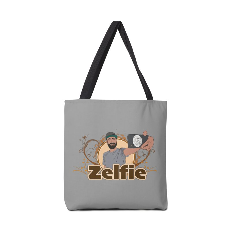 Zelfie Accessories Tote Bag Bag by Coconut Justice's Artist Shop