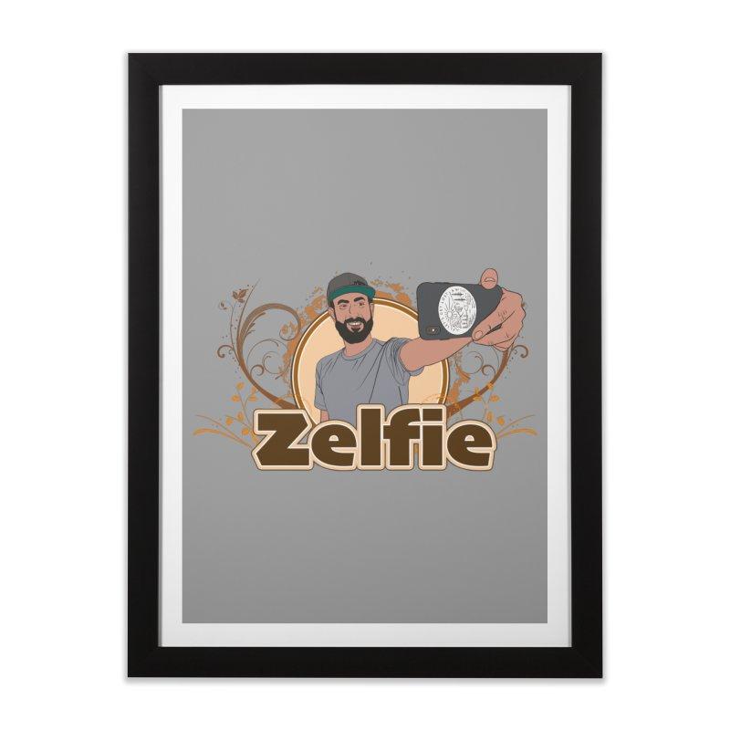 Zelfie Home Framed Fine Art Print by Coconut Justice's Artist Shop