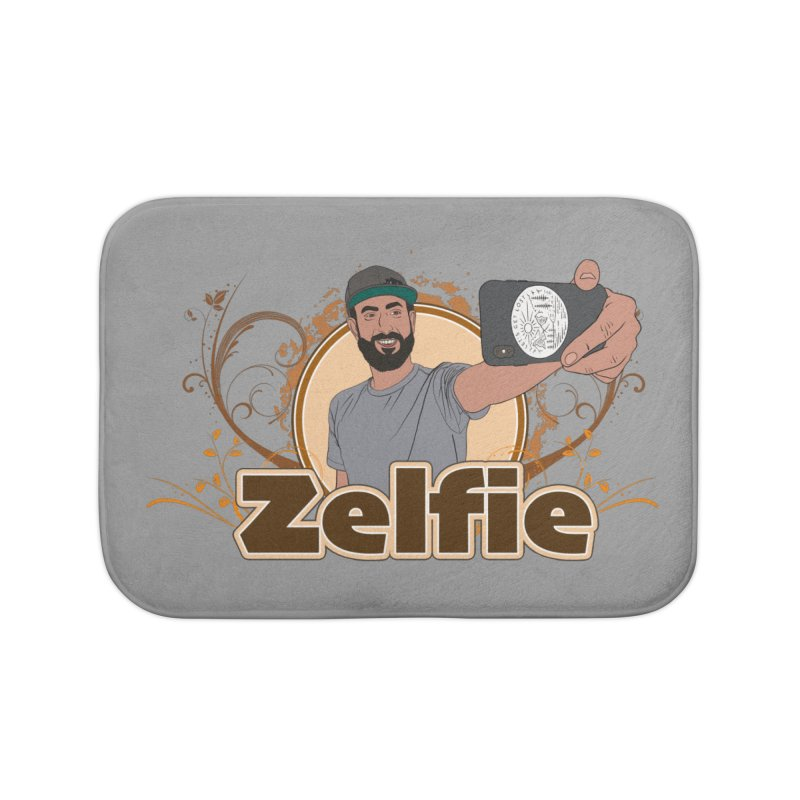 Zelfie Home Bath Mat by Coconut Justice's Artist Shop
