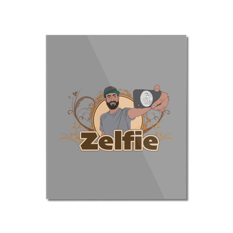 Zelfie Home Mounted Acrylic Print by Coconut Justice's Artist Shop