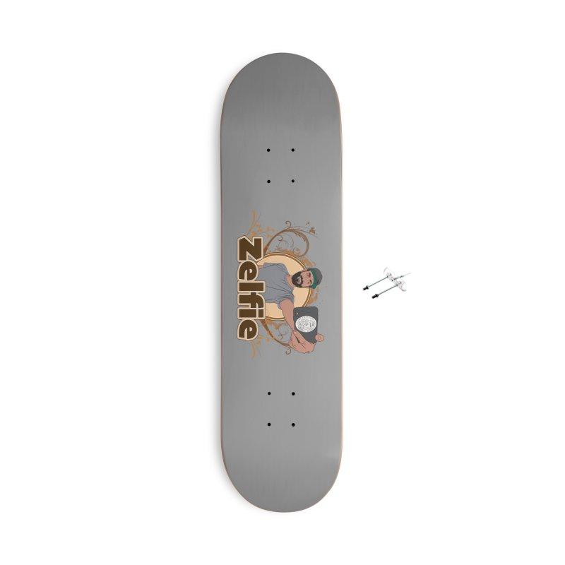 Zelfie Accessories With Hanging Hardware Skateboard by Coconut Justice's Artist Shop