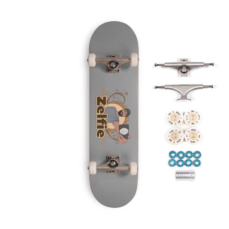 Zelfie Accessories Complete - Premium Skateboard by Coconut Justice's Artist Shop