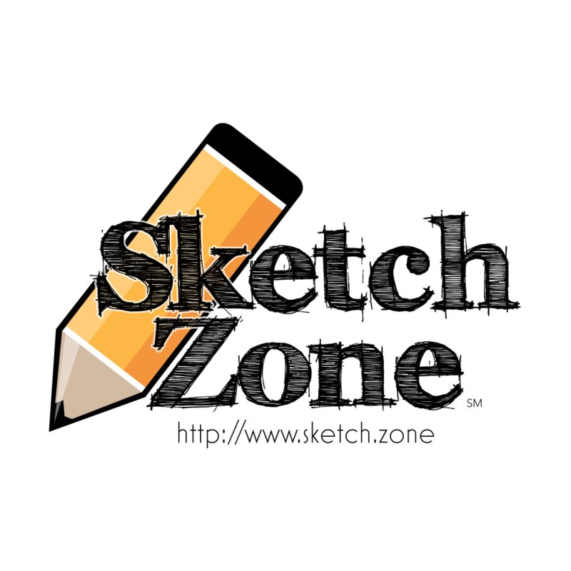 Throwback Sketch Zone Logo None  by Coconut Justice's Artist Shop