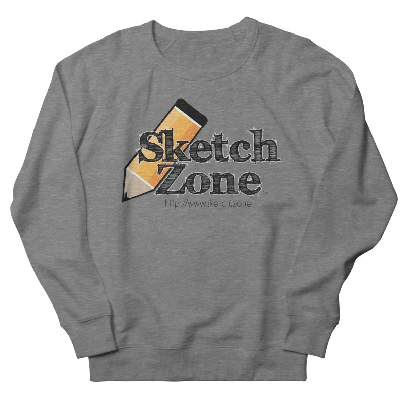Throwback Sketch Zone Logo Women's French Terry Sweatshirt by Coconut Justice's Artist Shop